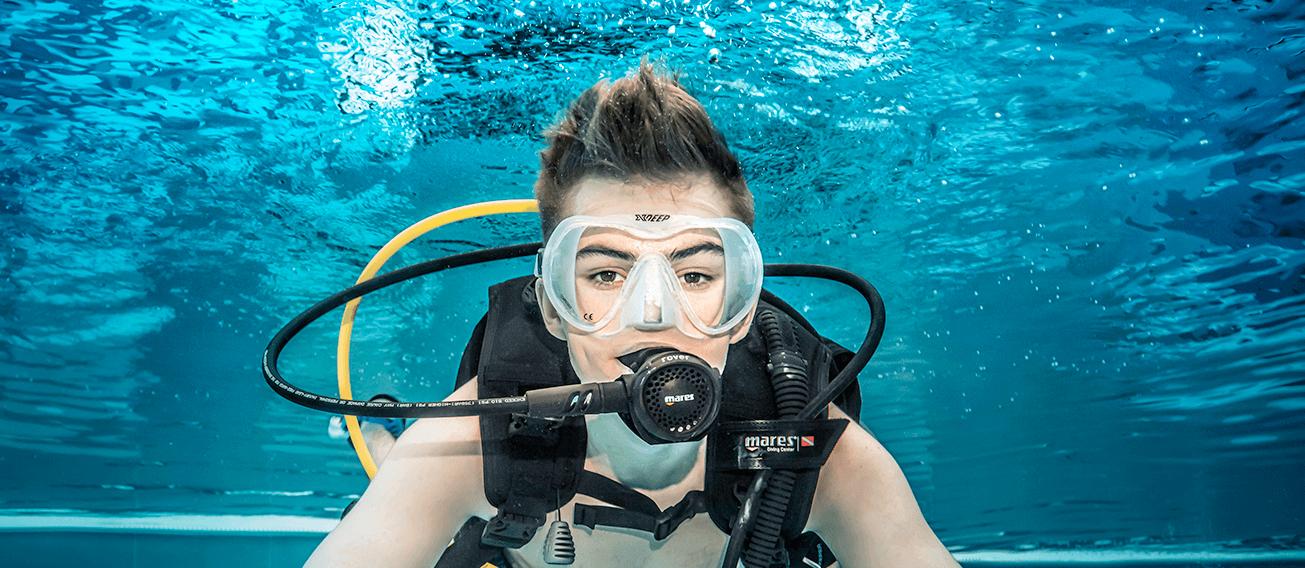 pierwszy raz pod wodę deepspot