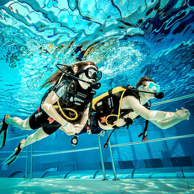 scuba diving deepspot