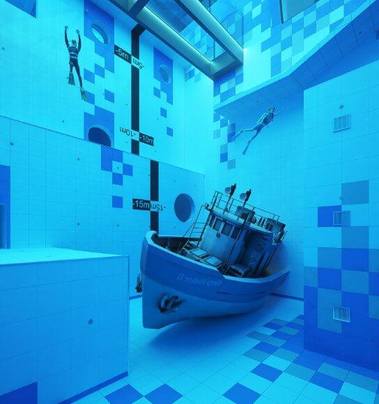 zatopiony statek deepspot